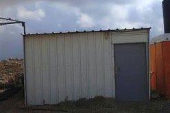 Stop work orders on residences in Khirbet Umm al-Khair