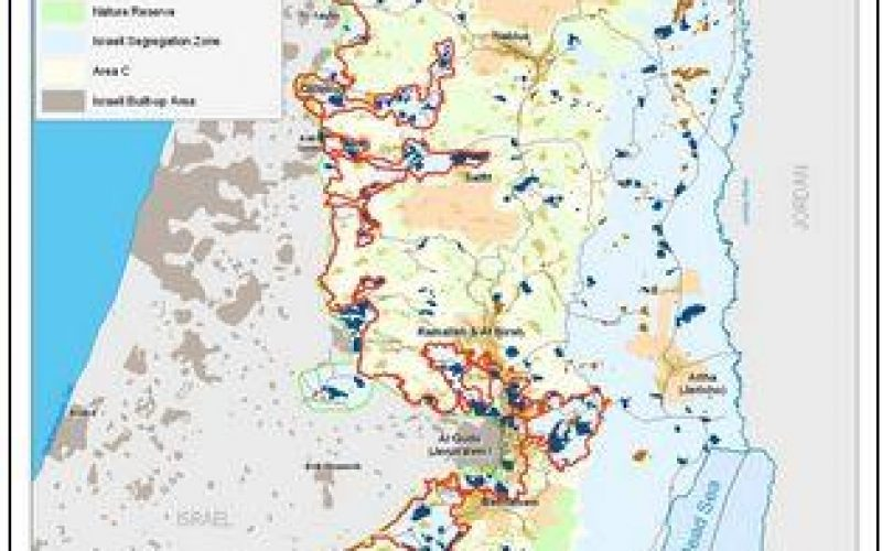 Israel increased restrictions over the movement of people and goods in the occupied West Bank