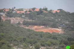 """""""Undergoing colonial activities and occupational plans"""" <br> Wadi Qana is on the edge of Judaization and landmarks change"""
