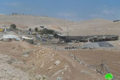 The Israeli military confiscates 4 residential rooms  from the Bedouin community of Arab al-Kaabna