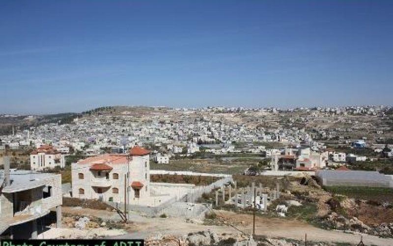 Military Orders targeted Seven Palestinian Houses nearby Al-'Arroub Refugee camp in Hebron Governorate