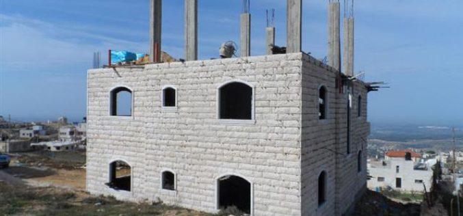 Stop-work Orders in Beit Ummar