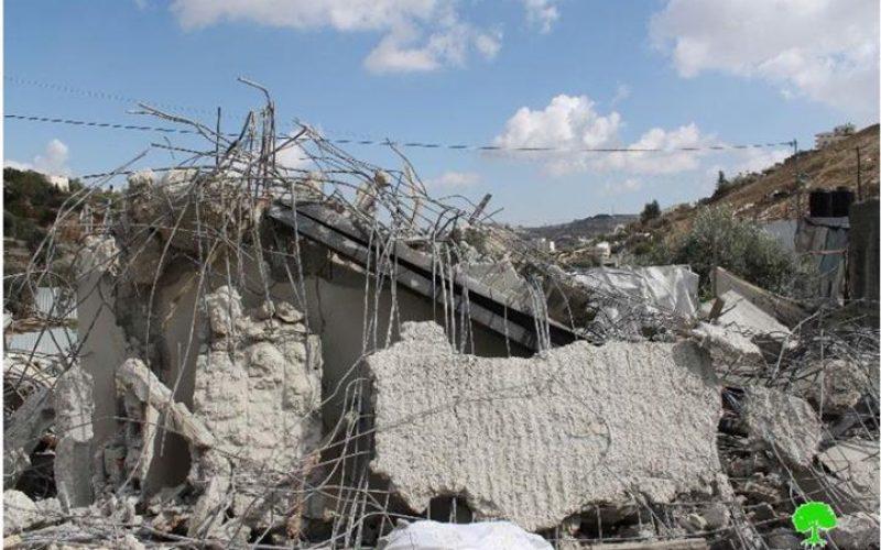 الانتهاكات الإسرائيلية في القدس المحتلة خلال شهر تشرين الثاني من العام 2014