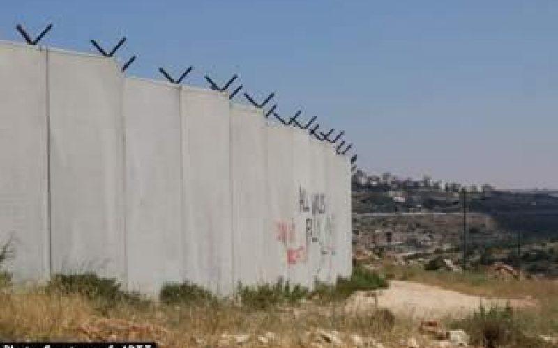 جدار العزل العنصري وسيلة اسرائيل للسيطرة على الاراضي الفلسطينية اسرائيل تمدد سريان سيطرتها على اراضي في محافظة رام الله