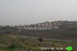 الاحتلال الإسرائيلي يغلق مدخل قرية دير نظام / محافظة رام الله