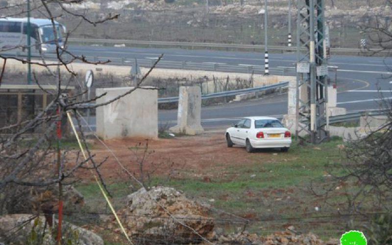 الاحتلال يهدم غرفة زراعية في البقعة شرق الخليل