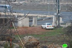 The Israeli occupation demolishes a agricultural room in Hebron