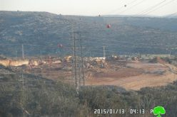 Emmanuel colony goes under expansion at the expense of Deir Istiya lands