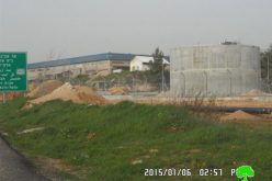 Excavations  works nearby Halmish colony