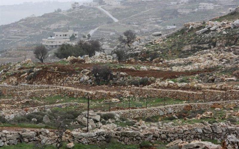 """اراضي دولة أو مناطق """"ج"""" تمنع الفلسطينيين من استخدام اراضيهم في قرية شوفة/ محافظة طولكرم"""