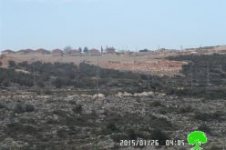 Bruchin colony evolves at the expense of the Palestinian village of Bruqin