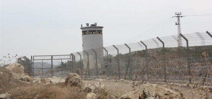 اسرائيل تُعجّل من مصادرة الاراضي الفلسطينية غرب جدار العزل العنصري في محافظة قلقيلية