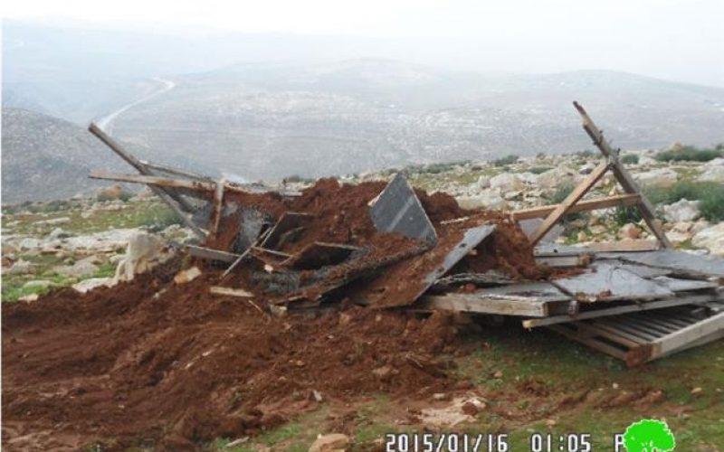 التقرير الشهري حول الانتهاكات الاسرائيلية في القدس المحتلة خلال شهر كانون الثاني 2015