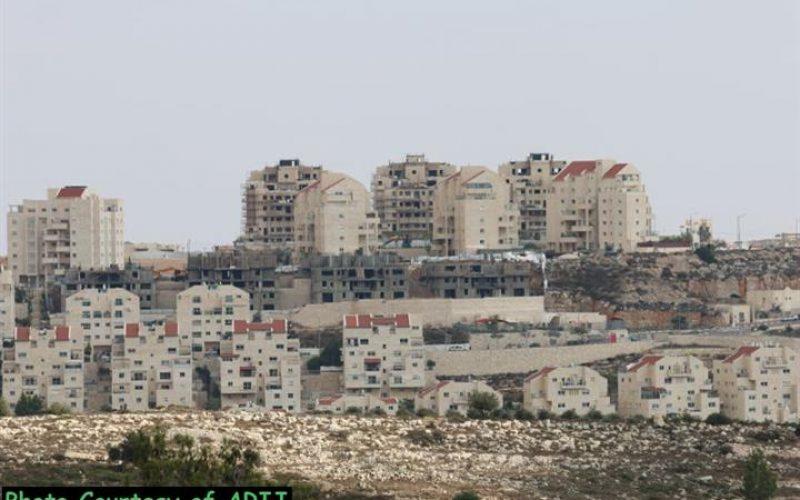 """""""صفقة اراضي"""" جديدة لصالح البناء الاستيطاني في الاراضي الفلسطينية المحتلة"""""""