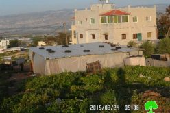 Demolition order on agricultural barracks in the village of Bardala