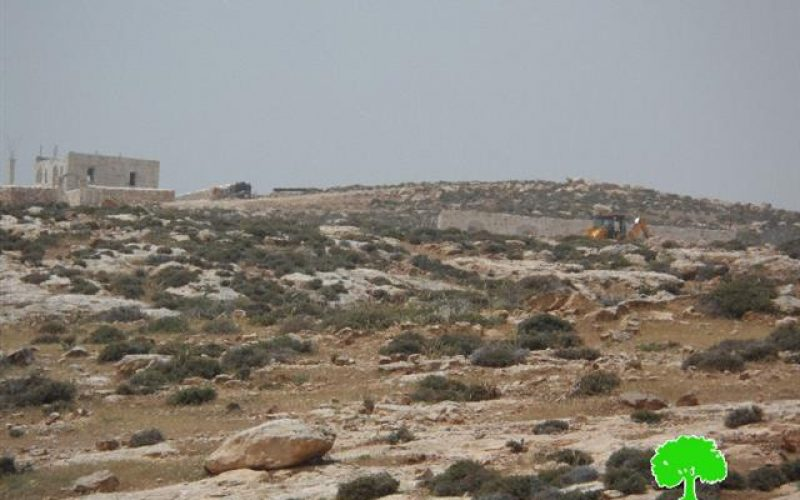 Colonial ravaging and construction works conducted in the Bethlehem village of Kisan