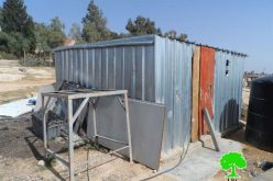Stop-work orders on residences of Khirbet Um al-Khair- Yatta