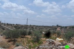 An Israeli company seeks to loot lands from the Salfit village of Masha though forgery