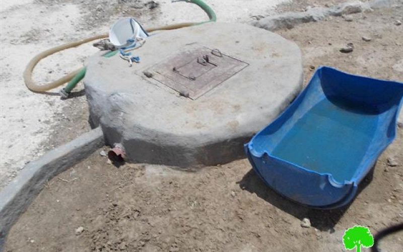 Demolition orders on two water wells in the Hebron town of Yatta