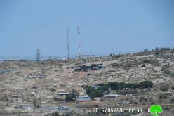 The Israeli occupation imposes sanctions on the residents of Al-Ramadin northern community