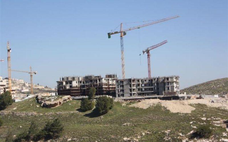 """""""الاستيطان, الوﺟﻪ الدائم للحكومة الاسرائيلية"""" <br> مشاريع استيطانية جديدة في عدد من المستوطنات الاسرائيلية في القدس الشرقية المحتلة"""