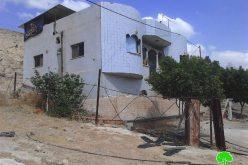 إخطارات بهدم 4 مساكن في قرية الجفتلك / محافظة أريحا