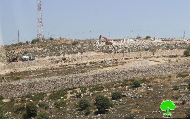Expansion works on Hatamar, Givot and Tal Hazatim outposts
