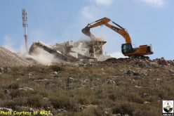 """The Strangulated Village of Wadi Fukin"" <br> Land Leveling in Bethlehem for new Industrial Settlement in the Western Part of the Governorate"