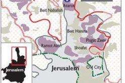 اسرائيل بصدد اخلاء ممتلكات فلسطينية في كفر عقب لصالح البناء الاستيطاني