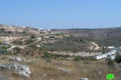 Revava colonists clog water well with rocks and lay down landmarks to open colonial road in Deir Istiya village
