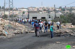 إغلاق 3 طرق زراعية في قرية كفر قدوم