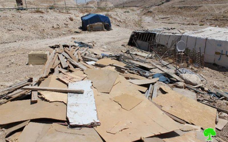 Demolition of structures in the different Bedouin communities of East Jerusalem
