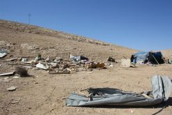 Israel targeted the Palestinian communities in the Jordan Valley area