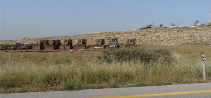 Broadening the Israeli army's training periphery in the Jordan Valley (Al-Ghoor)