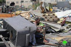 الاحتلال هدم 6 منشآت تجارية عند المدخل الرئيسي لبلدة العيزرية في القدس المحتلة
