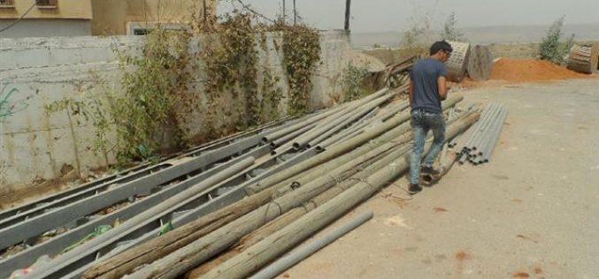 Banning power providing to artisan wells in the Qalqiliya village of Jayyous