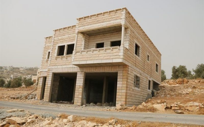 Demolition Orders in Teqou' village South of Bethlehem Governorate