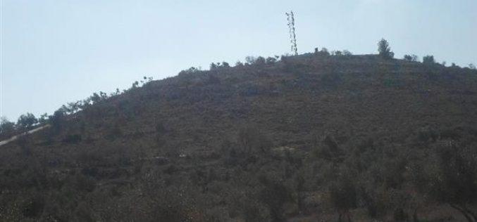 الاحتلال يصدر إخطاراً عسكرياً بتمديد الاستيلاء على أراضي في قريتي الساوية وياسوف جنوب نابلس