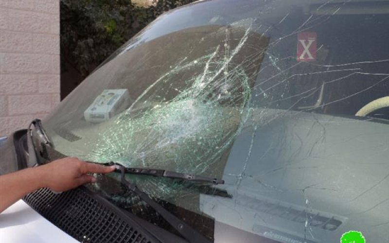 Colonists damage 20 Palestinian cars in the periphery of Nablus city