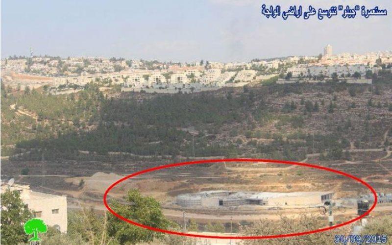 المستعمرات الإسرائيلية المقامة على أراضي بيت لحم تشهد توسعات مكثفة متواصلة