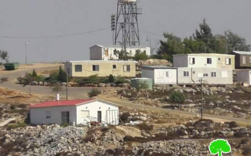 A threat to demolish a Palestinian neighborhood for an Israeli outpost security