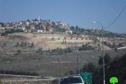 """أعمال توسعة وبناء وحدات سكنية جديدة في مستعمرة """"شيلو"""""""