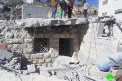 الاحتلال الإسرائيلي يهدم منزلاً  ويلحق أضراراً في منازل أخرى في بلدة سلواد