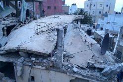 The Israeli occupation detonates the residence of detainee Mohammad Abu Shaheen in Qalandiya refugee camp