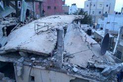 The Israeli occupation detonates the residence of detainee Mohammad Abu Shaheen in Qalandiya refugee camp