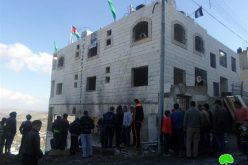 Israeli Forces demolish the residence of prisoner Raghib Ileiwi in Nablus