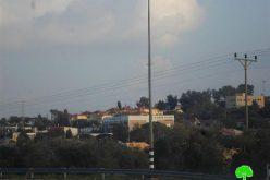"""إسرائيل تقوم بتحويل 30 دونماً من أراضي ديرستيا وجينصافوط إلى أراض """"دولة"""" تابعة للاحتلال"""