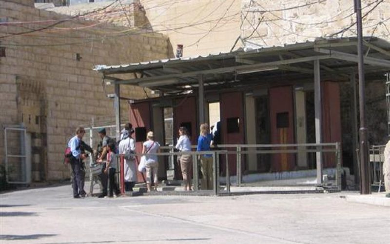 """Land confiscation orders  and new checkpoints in the periphery of Tomb of the Patriarchs  """"Abraham Mosque""""  in Hebron"""