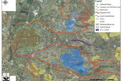 اسرائيل تخطط لشق طريق التفافي جديد على أراضي قرى عزون والنبي الياس في محافظة قلقيلية