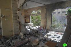 حصيلة الانتهاكات الإسرائيلية للحق الفلسطيني بالأرض والسكن خلال العام 2015